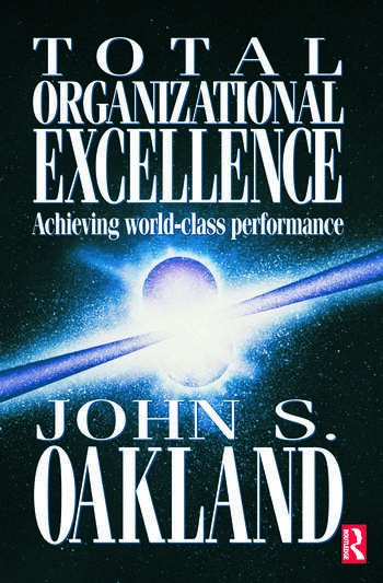 Total Organizational Excellence book cover