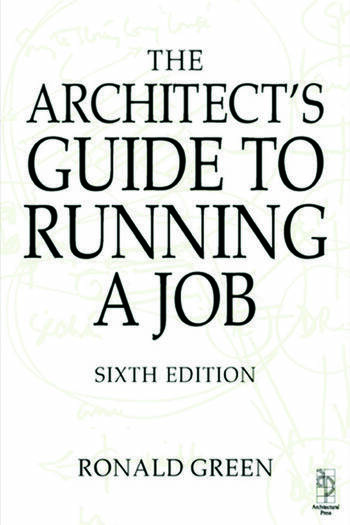 Architect's Guide to Running a Job book cover