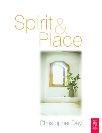 Spirit and Place book cover