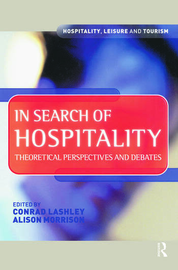 In Search of Hospitality book cover
