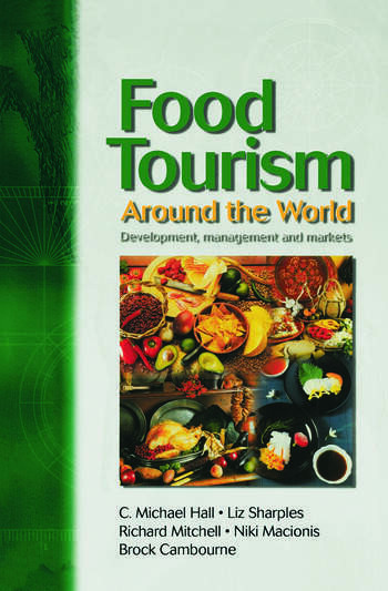 Food Tourism Around The World book cover