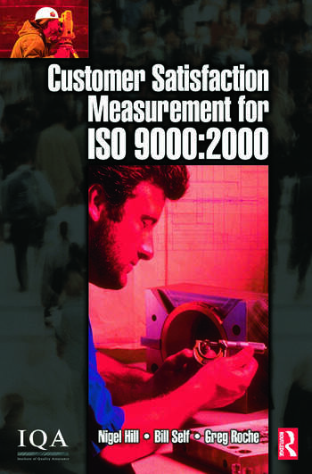 Customer Satisfaction Measurement for ISO 9000: 2000 book cover