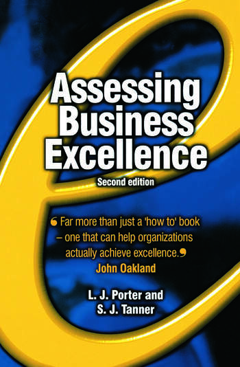 Assessing Business Excellence book cover