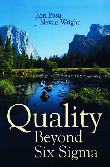 Quality Beyond Six Sigma book cover