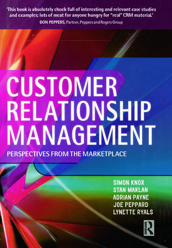 Customer Relationship Management book cover