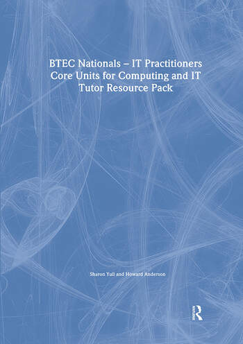 BTEC Nationals - IT Practitioners Tutor Resource Pack book cover
