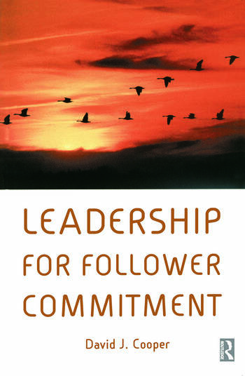 Leadership for Follower Commitment book cover
