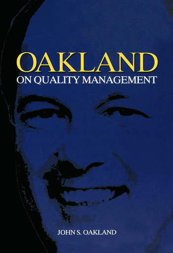 Oakland on Quality Management book cover