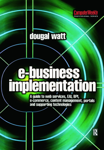 E-business Implementation: book cover