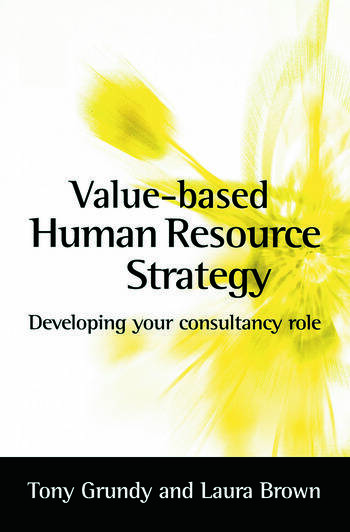 Value-based Human Resource Strategy book cover