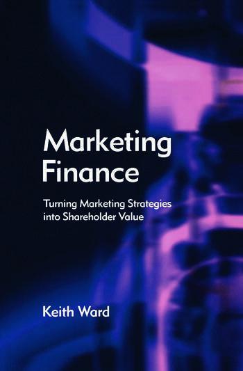 Marketing Finance book cover