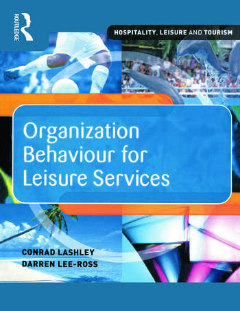 Organization Behaviour for Leisure Services book cover