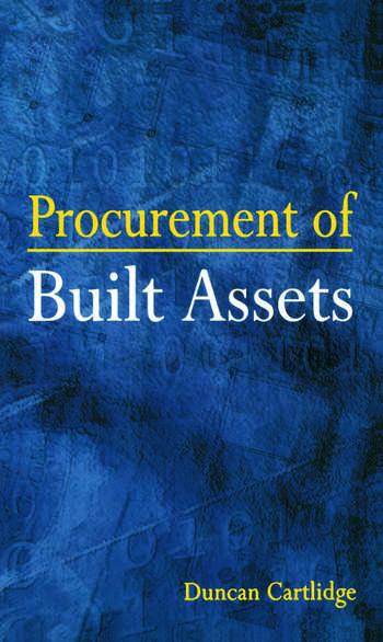 Procurement of Built Assets book cover