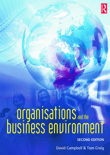 Organisations and the Business Environment book cover
