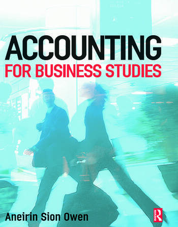 Accounting for Business Studies book cover