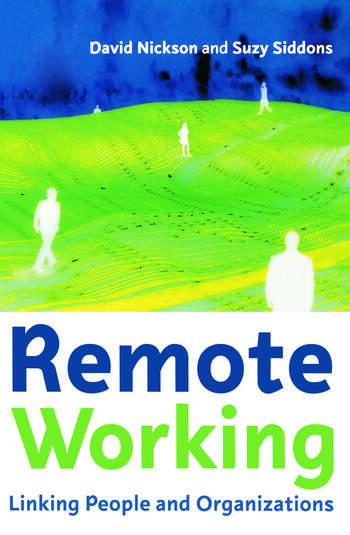 Remote Working book cover