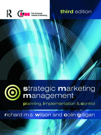 Strategic Marketing Management book cover