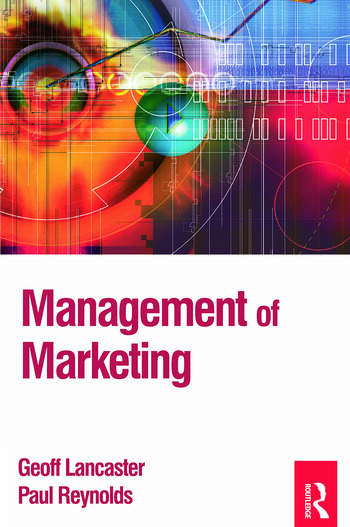Management of Marketing book cover