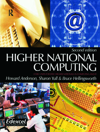 Higher National Computing book cover