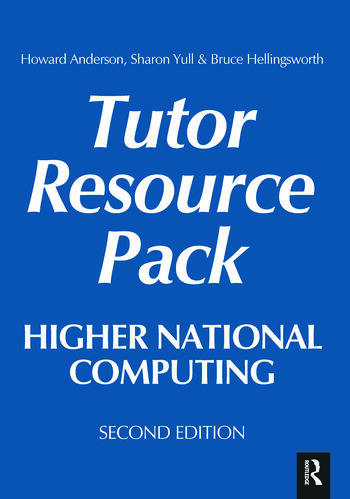 Higher National Computing Tutor Resource Pack book cover