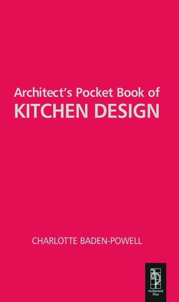 Architect's Pocket Book of Kitchen Design book cover