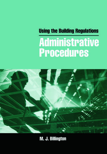 Using the Building Regulations: Administrative Procedures book cover