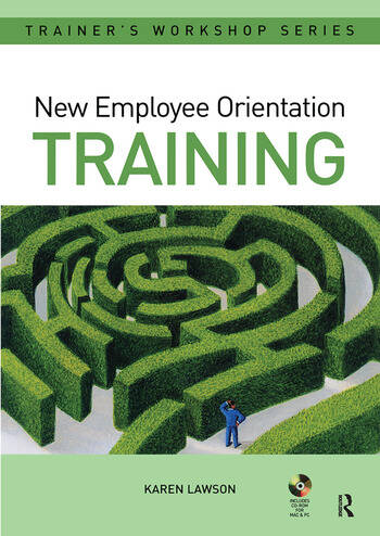 New Employee Orientation Training book cover