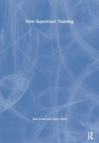 New Supervisor Training book cover