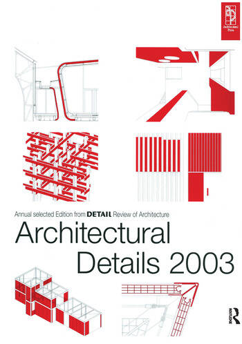 Architectural Details 2003 book cover