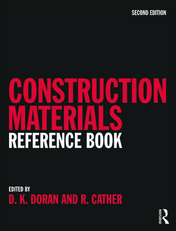 Construction Materials Reference Book book cover