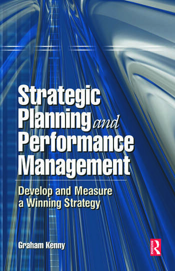 Strategic Planning and Performance Management book cover