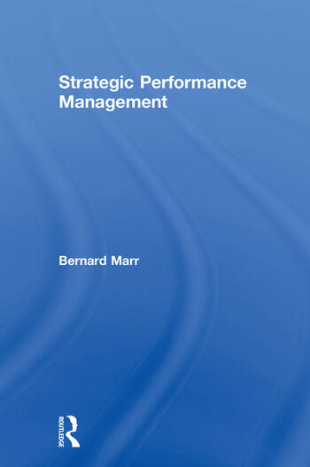 Strategic Performance Management book cover