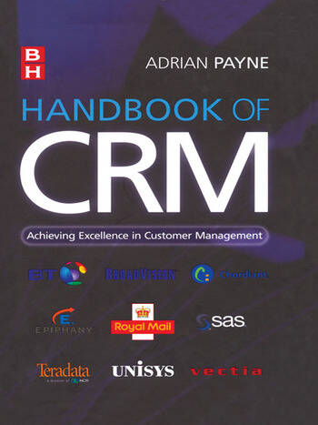 Handbook of CRM book cover