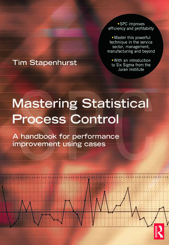 Mastering Statistical Process Control book cover