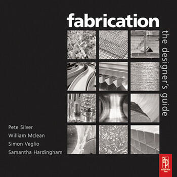 Fabrication book cover