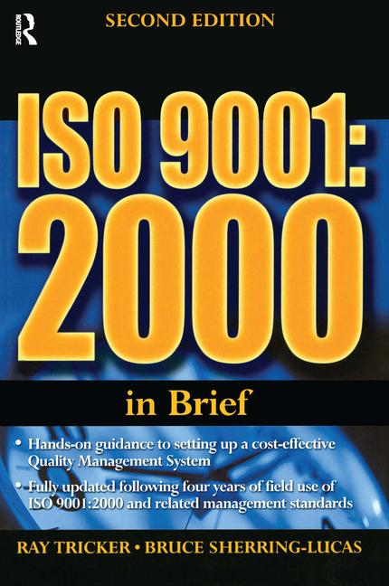 ISO 9001: 2000 In Brief book cover