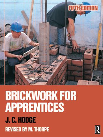 Brickwork for Apprentices, 5th ed book cover