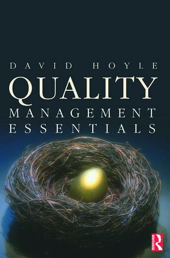Quality Management Essentials book cover