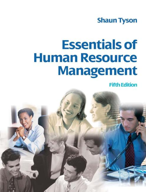 Essentials of Human Resource Management book cover