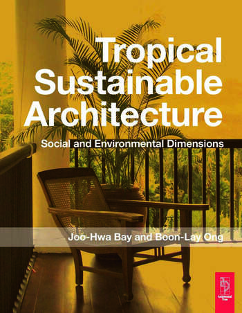 Tropical Sustainable Architecture book cover