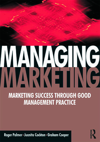 Managing Marketing book cover