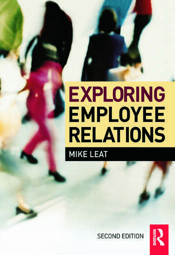 Exploring Employee Relations book cover