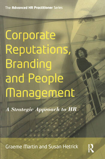Corporate Reputations, Branding and People Management book cover