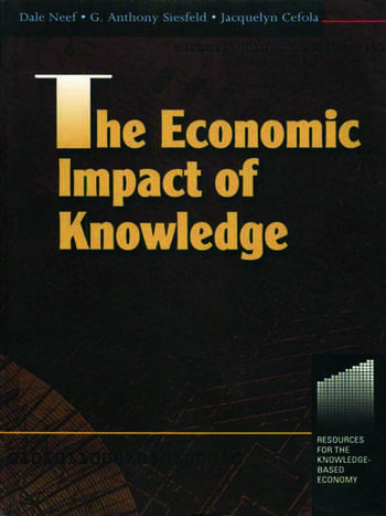 The Economic Impact of Knowledge book cover