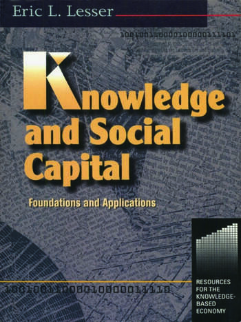 Knowledge and Social Capital book cover