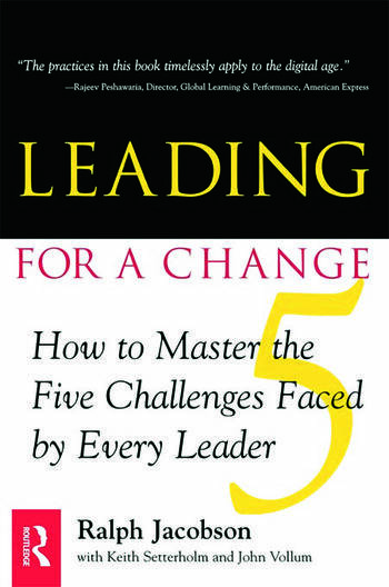Leading for a Change book cover