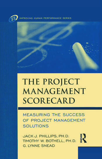 The Project Management Scorecard book cover