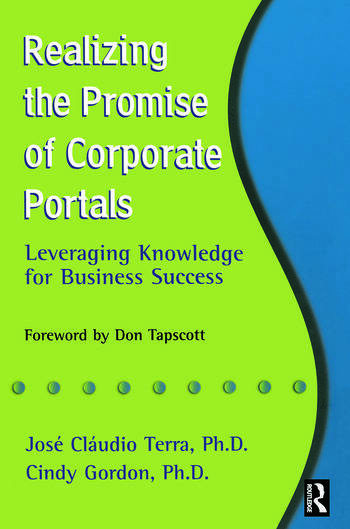 Realizing the Promise of Corporate Portals book cover
