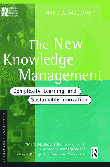 The New Knowledge Management book cover