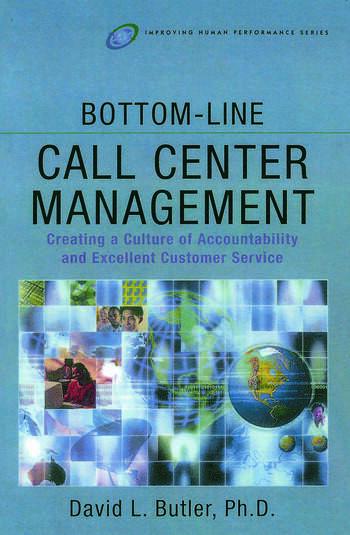 Bottom-Line Call Center Management book cover